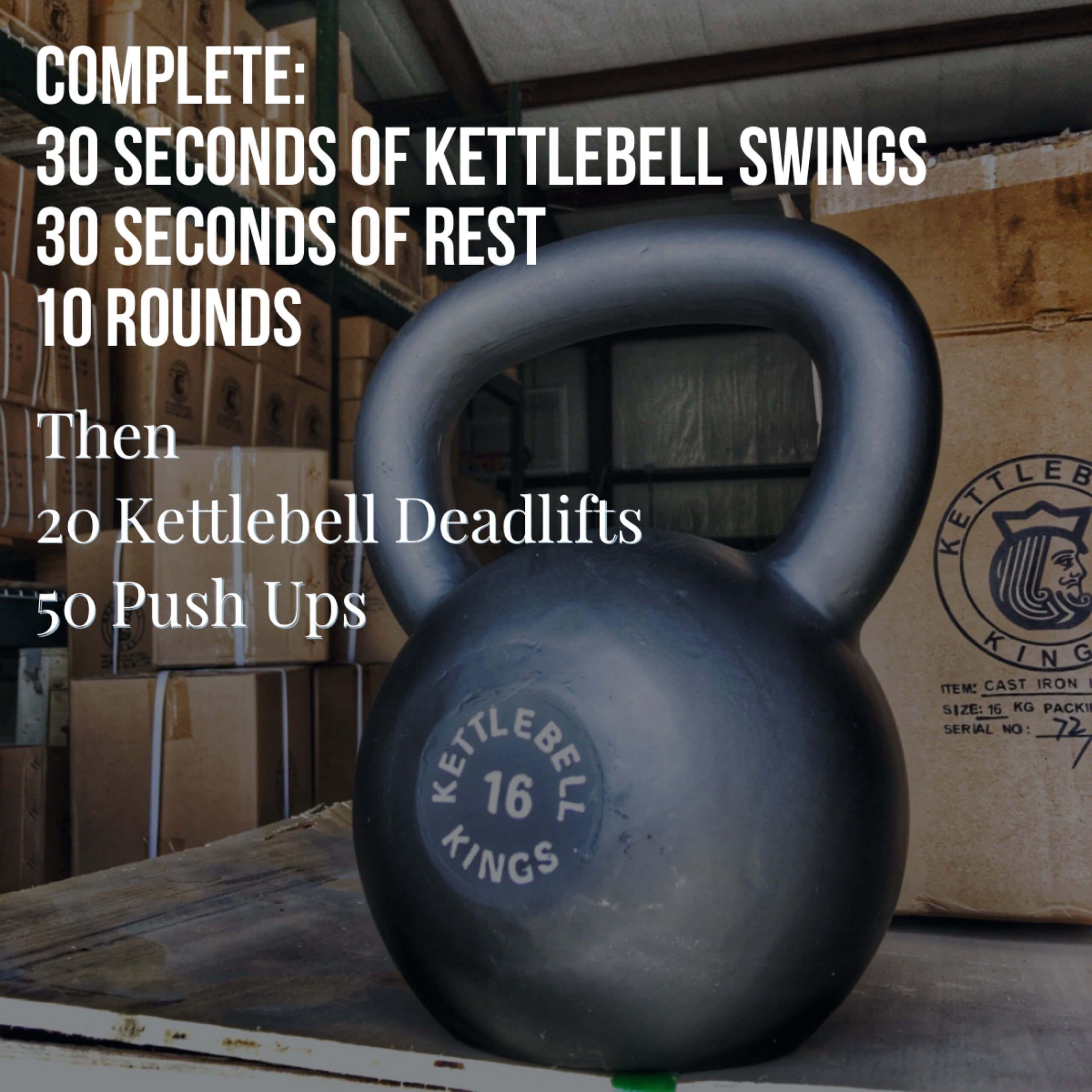 Kettlebell Workout For Men: Kettlebell Exercises, Kettlebell