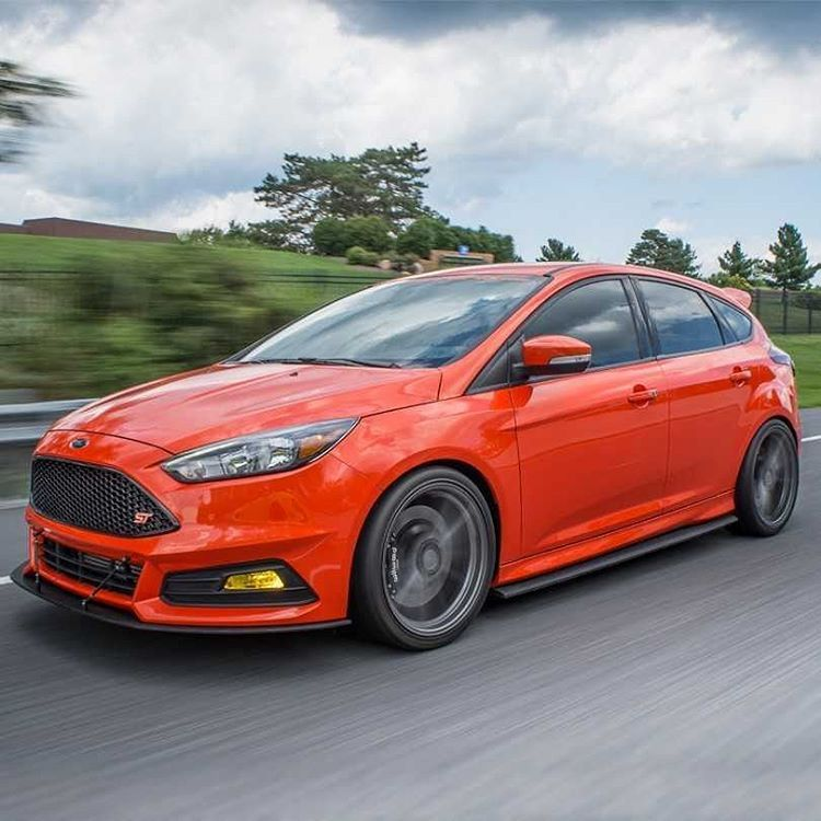 2015 Ford Focus St Suspension: Our 2015 #SEMA Focus ST