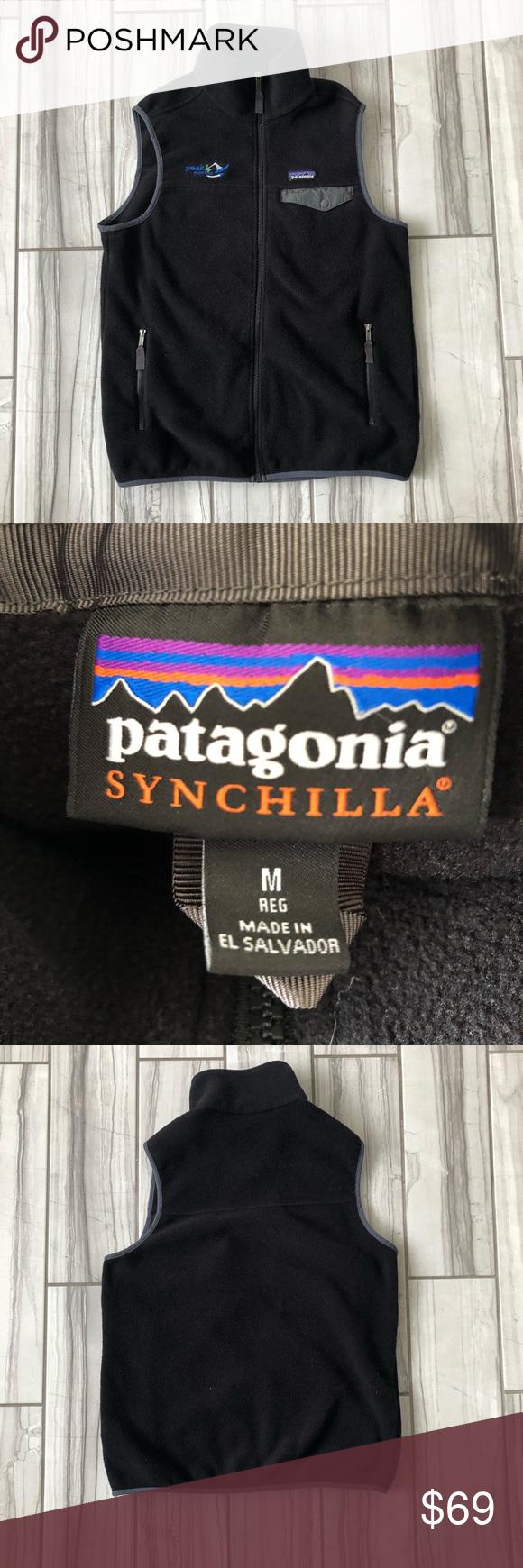 Patagonia SnapT Synchilla vest. EUC like new Patagonia