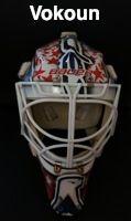 Game Used Masks - NHL - Game Worn Goalie Masks