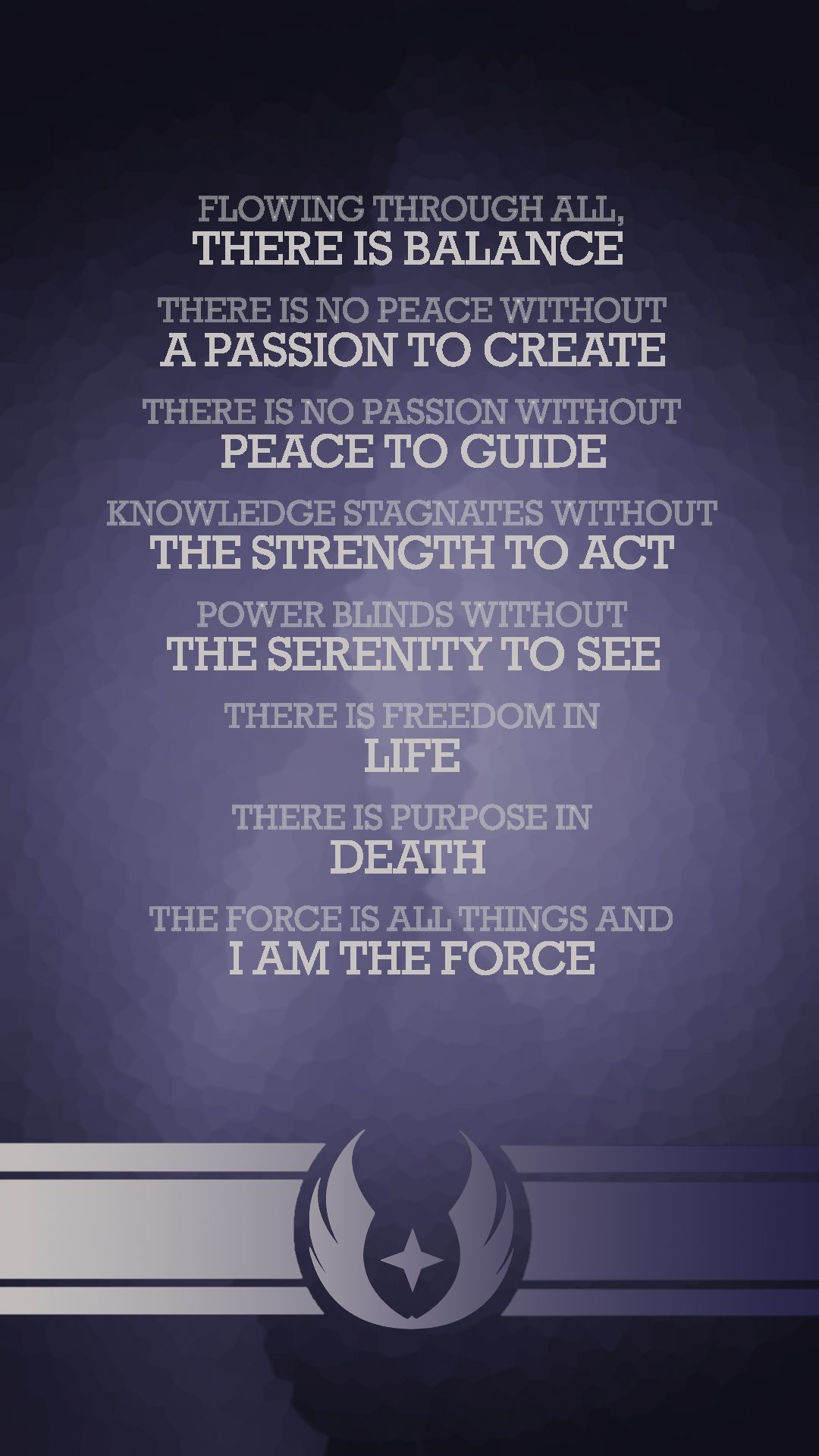 grey jedi code - Google Search | Sabers | Pinterest | Jedi ...