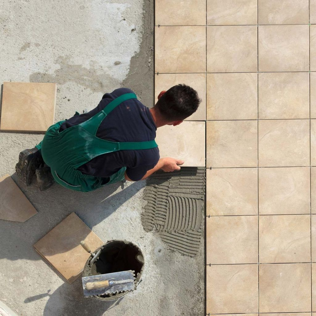 Laying Floor Tiles On Concrete Slab Porcelain Tile