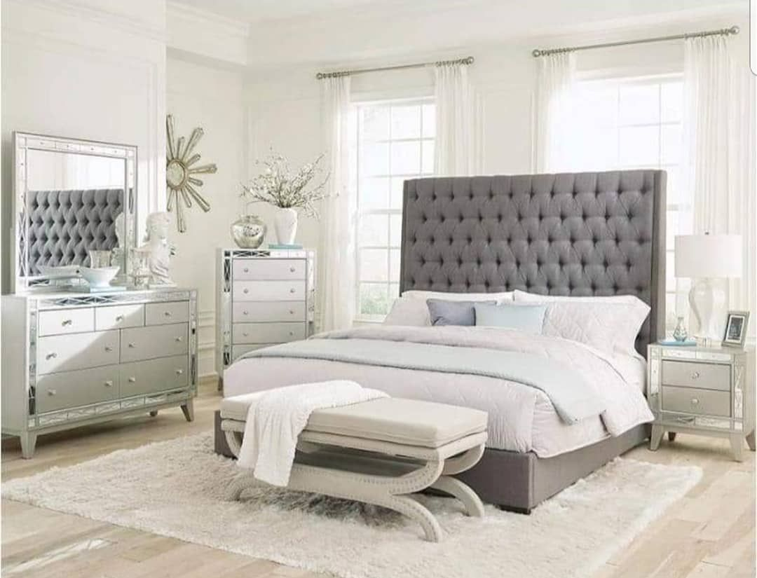 40 Down No Credit Check Financing Furniture Mattress Sale Text 40down To 21000 Or Call 678 223 4970 Www Perfectdreamersleepshopfurnit Upholstered Bedroom Set Bedroom Sets Upholstered Beds