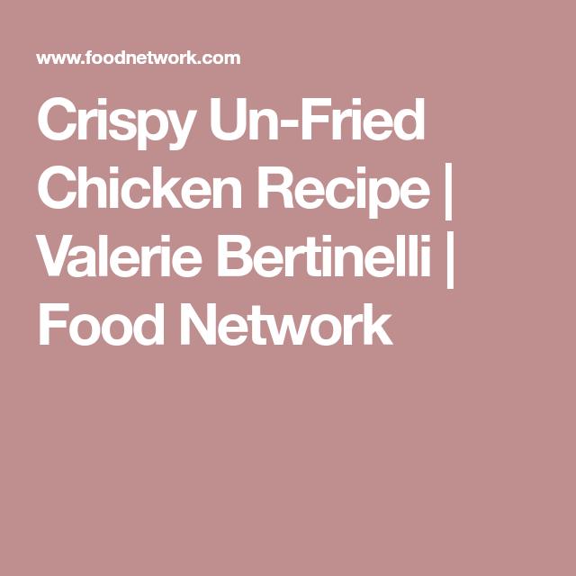 Crispy Un Fried Chicken Recipe Crispy Untried Chicken