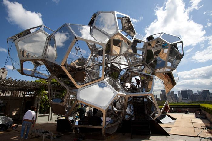 tomas saraceno cloud city on the met roof & Cloud City at the Metropolitan Museum of Art | New York New York ... memphite.com
