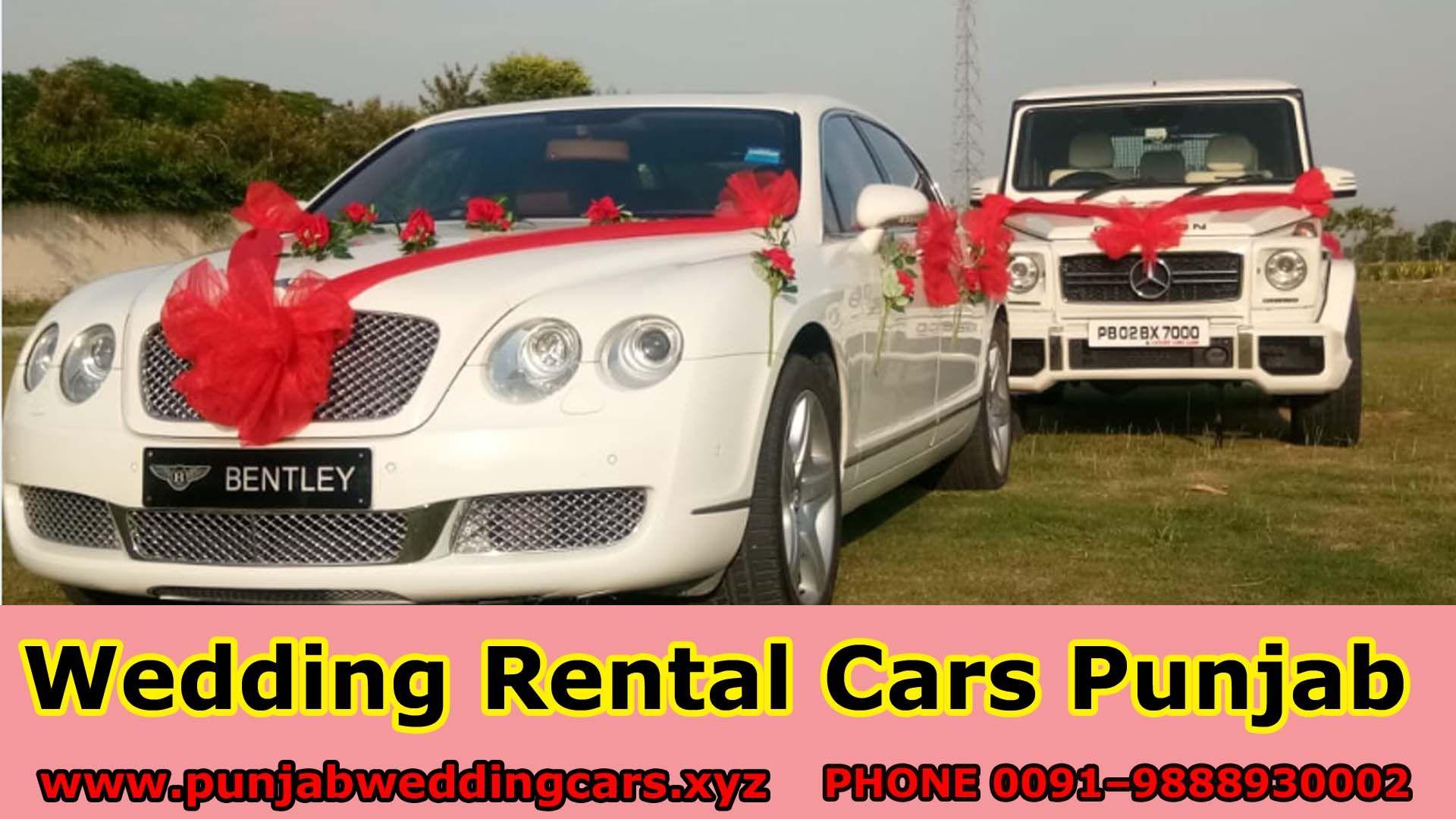 Best Luxury Wedding Cars Punjab Luxury Car Rental Best Luxury Cars Car Rental