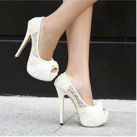 Beautiful White Heels