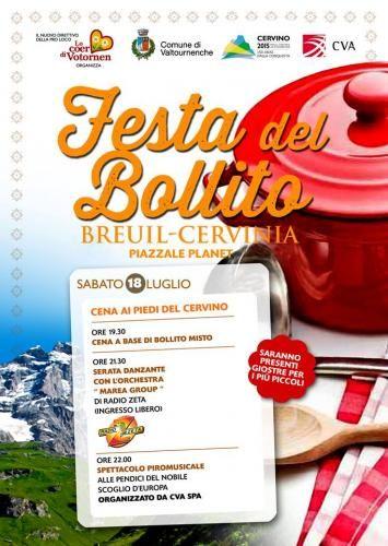 Breuil-Cervinia (Valle d'Aosta) - Feta du Bulì (festa del bollito)