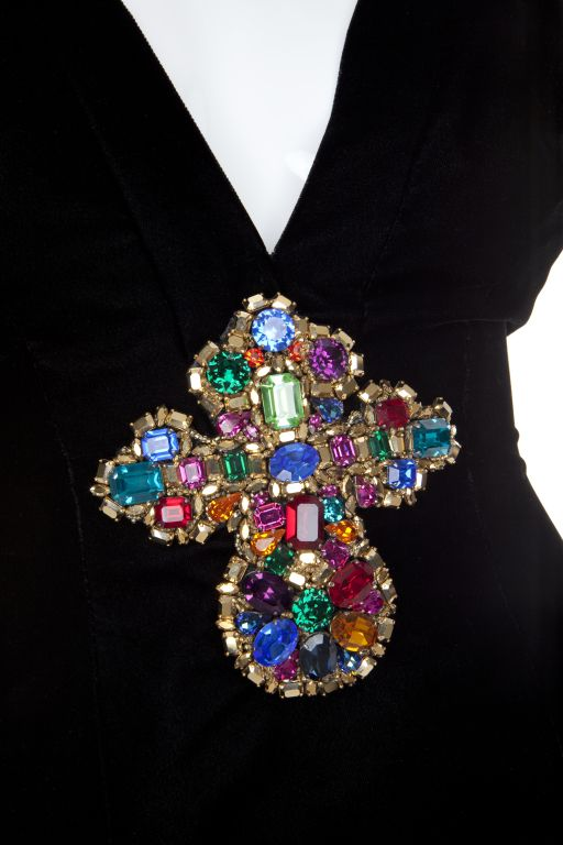 80s AUTH CHRISTIAN LACROIX HAUTE COUTURE THE HOUSE OF PATOU