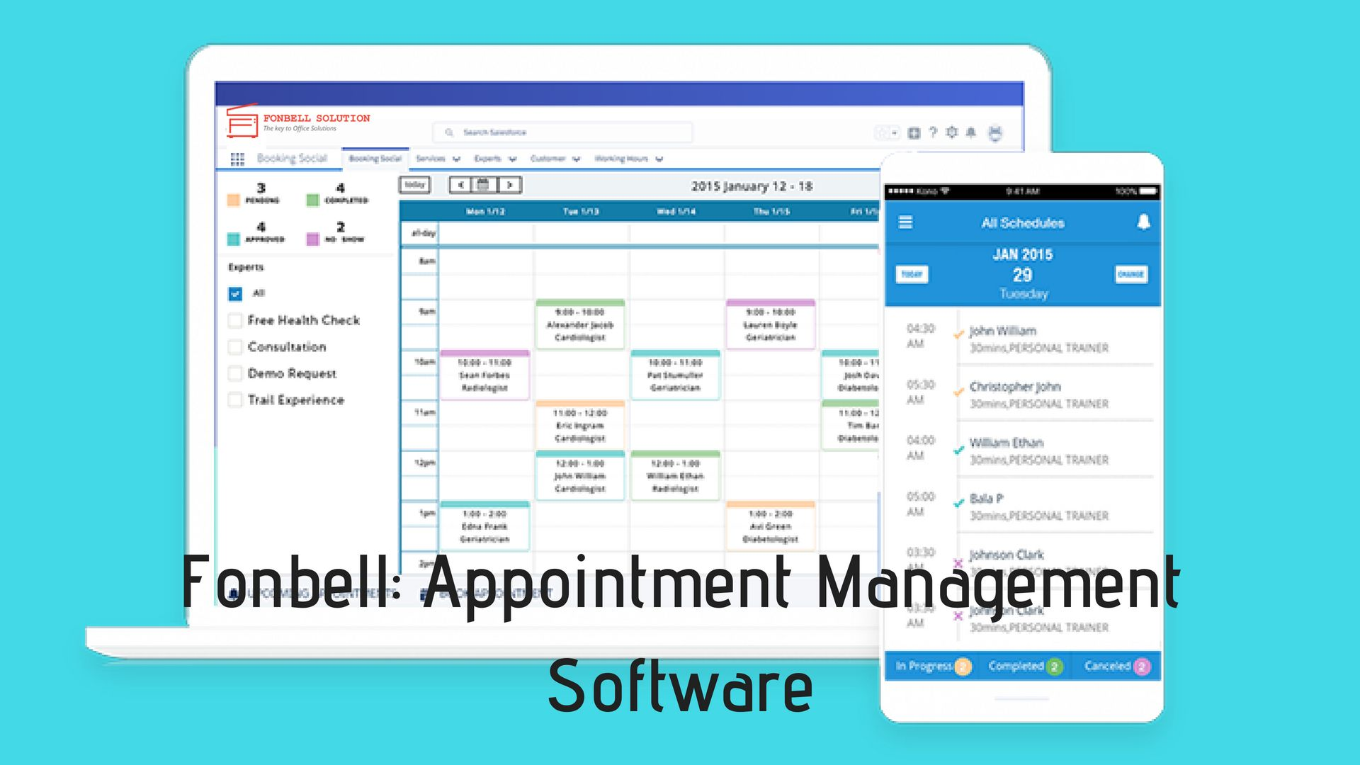 Manage your Business Booking and Appointments with