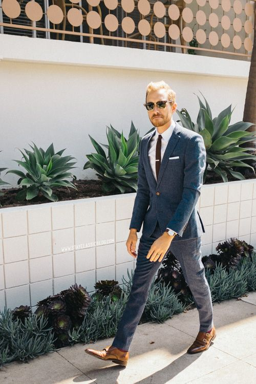 September 21, 2013. Wedding. Suit: Dogstooth - ASOS - $200Shirt: J ...