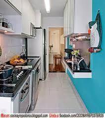 Resultado de imagen para decoracion de cocinas peque as - Cocinas pequenas y economicas ...