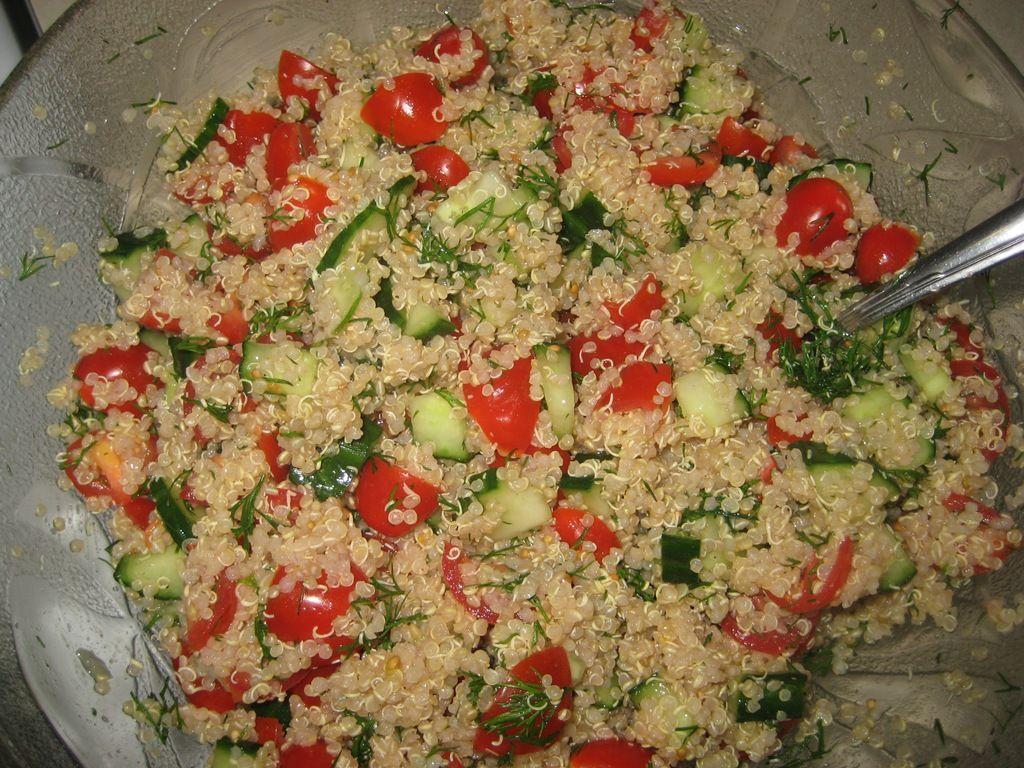 Summer Lemon Dill Quinoa Salad