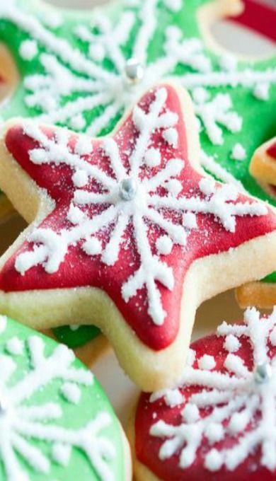 Cutout Cream Cheese Sugar Cookies Best Pinterest Christmas In 2019