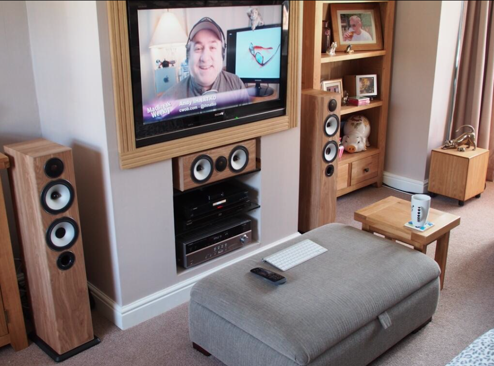Lounge Fireplace Conversion For Hi Fi Whfsystems Entry
