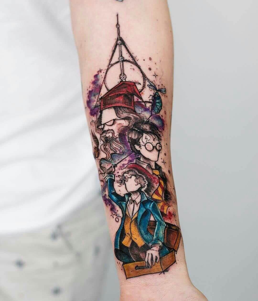 Harrypottertattoo Tattoo Ideas Harry Potter Tattoos Tattoos Hp Tattoo