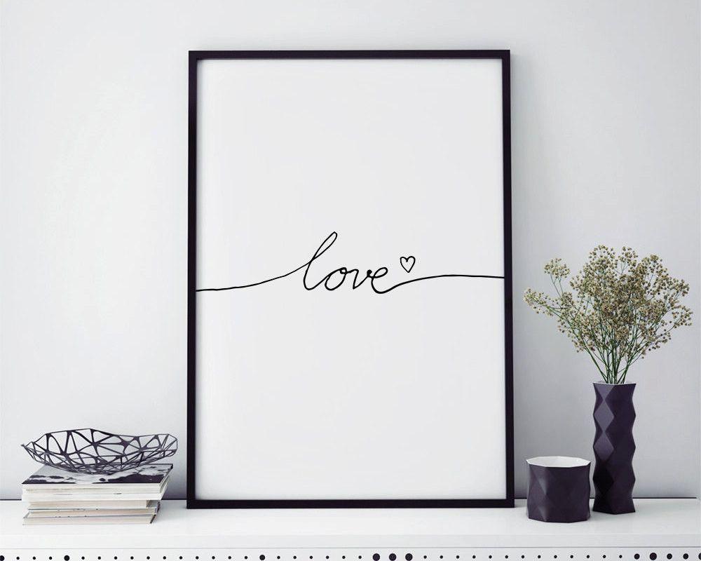 Affiche A Imprimer Scandinave Gratuit Avec Articles Les Plus Populaires Signe Damour Affiche Idees Et Il Fullxfull 1015 Word Wall Art Nursery Poster Love Signs