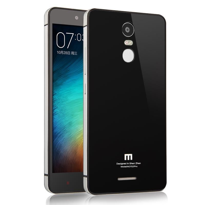 For Xiaomi Redmi Note 3 Prime Case Luxury Aluminum Frame Tempered Glass Back Cover Cases For Xiaomi Redmi Not Phone Case Accessories Phone Phone Cases Online