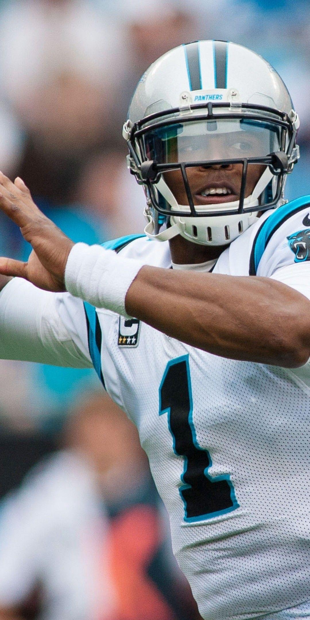 Download 1080x2160 Cam Newton Carolina Panthers American