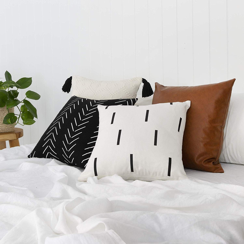 Christmas Dog Linen Cushion Cover Throw Pillow Case Sofa Bed Home Decor Healthy