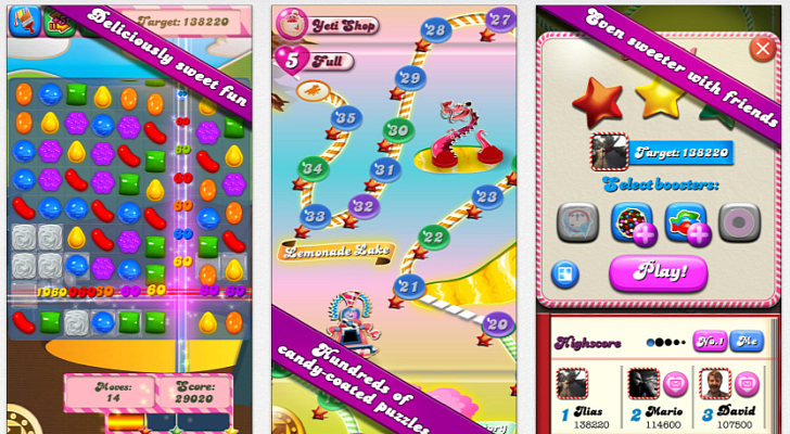 Candy Crush Saga Is the Most Downloaded Free App on iOS
