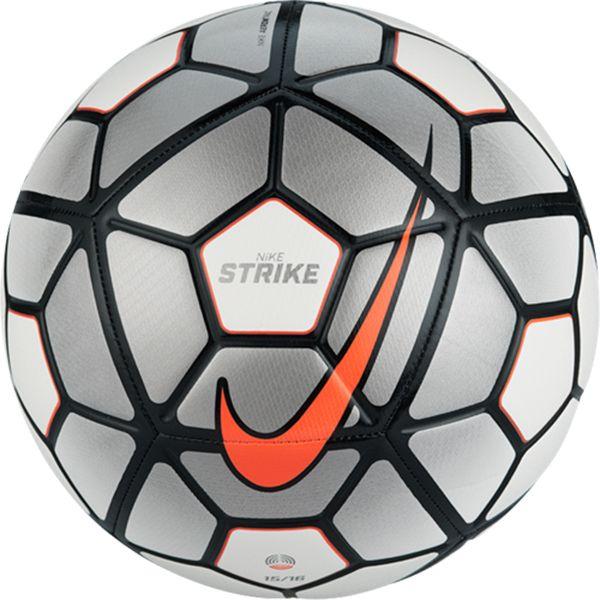 Oír de Tender Humedal  Nike Strike Ball 15/16 White/Black/Total Orange | Balón de fútbol nike,  Balones y Balones nike