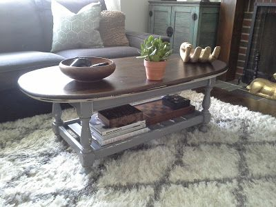 Living Room Sets Ethan Allen lilly's home designs: ethan allen coffee table redesign grey white
