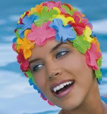 301258b2d676b bonnet de bains vintage | kitch | Bonnet de bain, Bonnet et Fleur ...