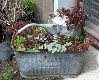 garden bathtub planter - Google-søk