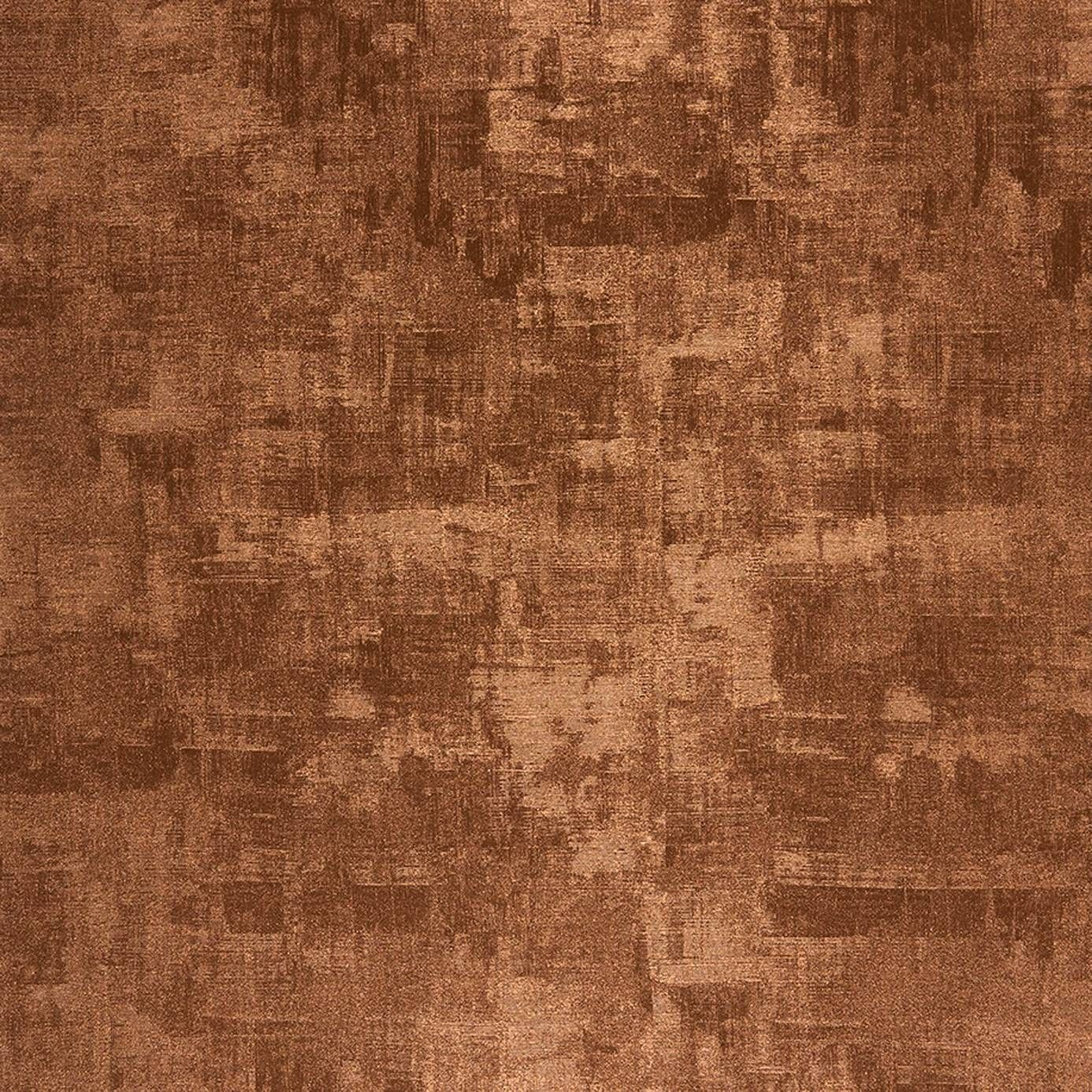 Copper Wallpaper From The Majestic Collection By Casadeco Powder Room Walls Above Wainscotting