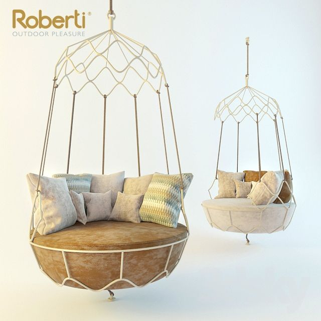 Suspended Chair Roberti Gravity