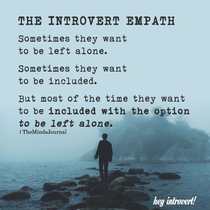 The Introvert Empath