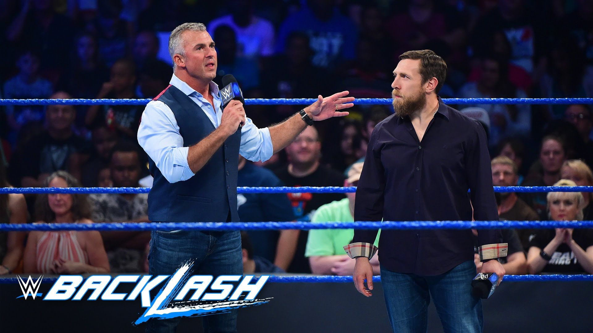 Shane McMahon & Daniel Bryan kick off the first SmackDown LIVE pay-per-v...