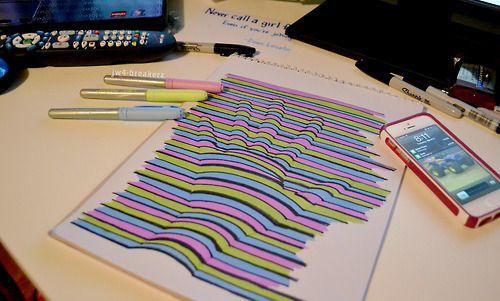 3D hand lines