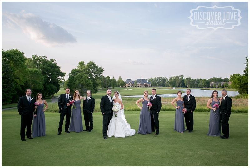 Longview Country Club Charlotte NC Wedding - bridal party