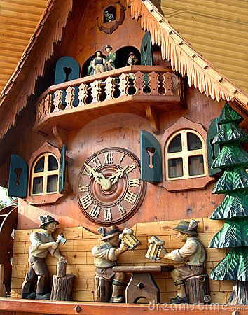 Cuckoo Clock From Black Forest Black Forest Germany Cuckoo Clock Germany