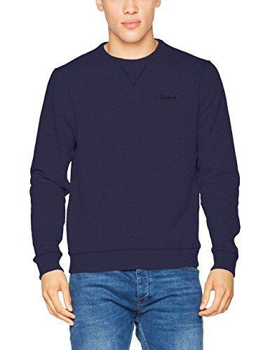 Pepe Jeans Men's Crew Neck Sweatshirt: Amazon.co.uk: Clothing