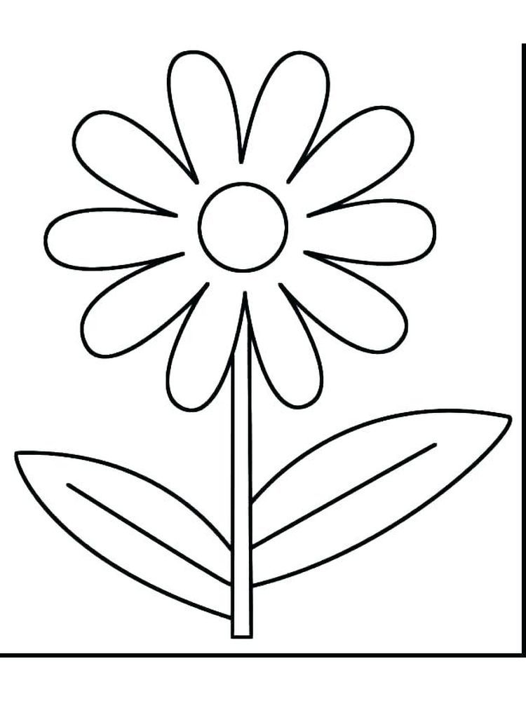 Flower Coloring Pages Pdf For Adults || COLORING-PAGES-PRINTABLE.COM | 1000x750