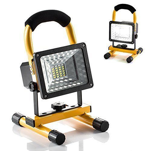 Led Spotlight With Usb Charger Outdoor Camping Lights Stand Portable Work Light Hallomall Camping Lights Work Lights Emergency Lighting