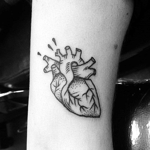 Image Result For Simple Anatomical Heart Tattoos These Are Tattoos