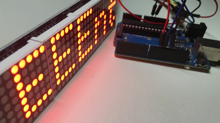 MAX7219 LED Matrix Display | Led matrix in 2019 | Arduino, Scrolling