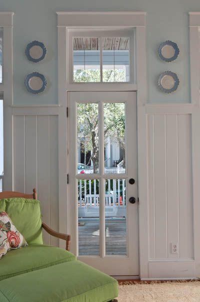 Back Door Idea Transom Window Above Glass Door Lisa Mallory