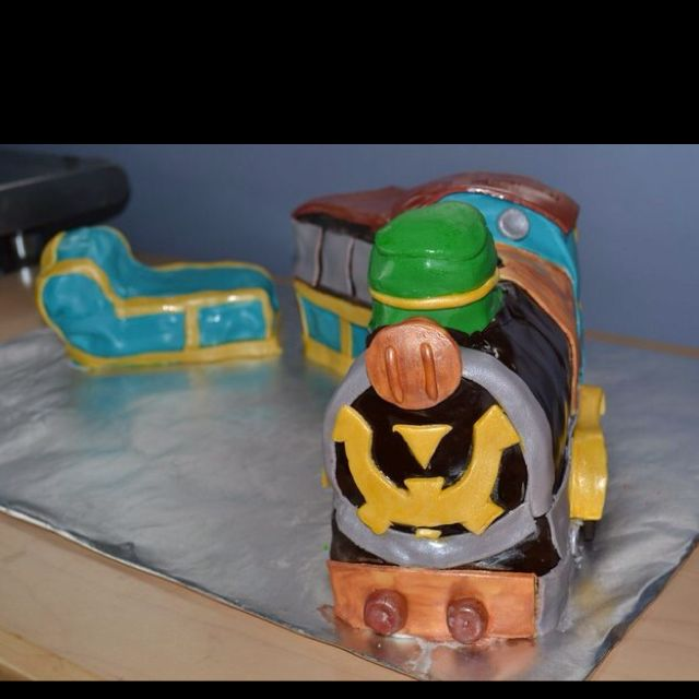 My Legend Of Zelda Spirit Train Cake. (Matt's 6th Birthday