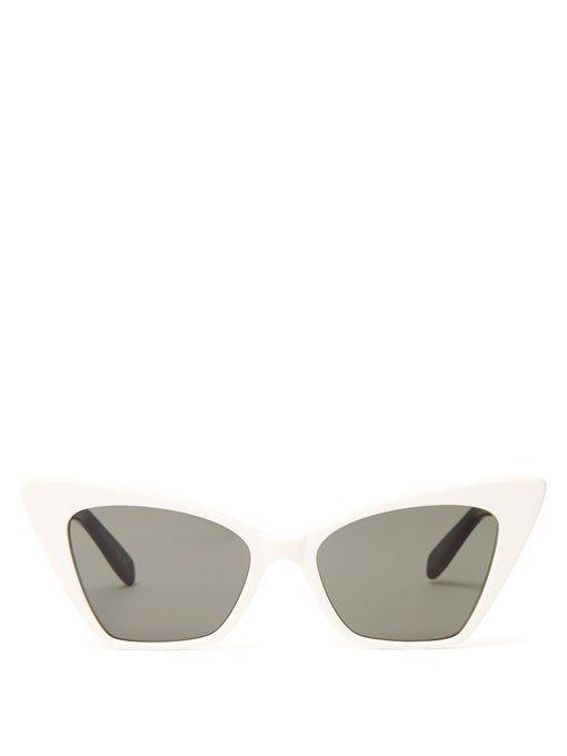 Victoire sharp cat-eye sunglasses  | Saint Laurent | MATCHESFASHION UK