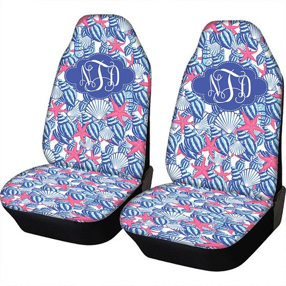Awesome Seat Covers For Vehicle Lilly Inspired Car Seat Covers Set Alphanode Cool Chair Designs And Ideas Alphanodeonline