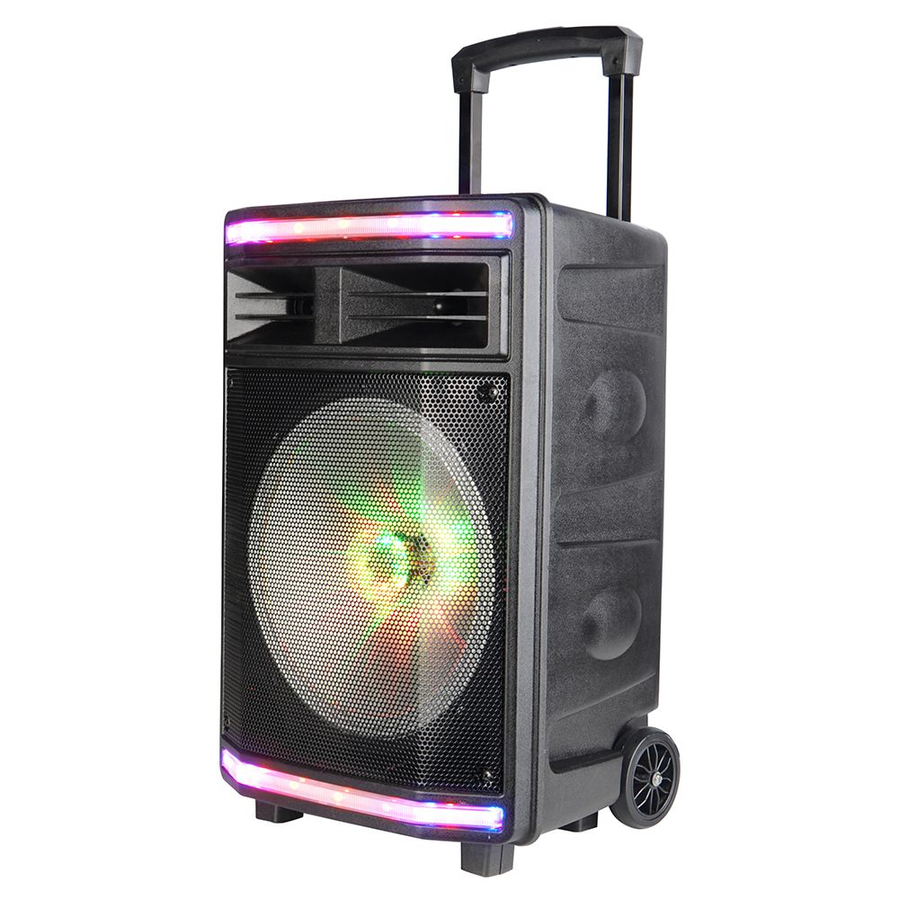 Trolley Speaker With A Microphone Interface You Can Connect To Wired Microphones Electric Box Guitars Electric Guitars And Electric Box Fm Radio Electronics