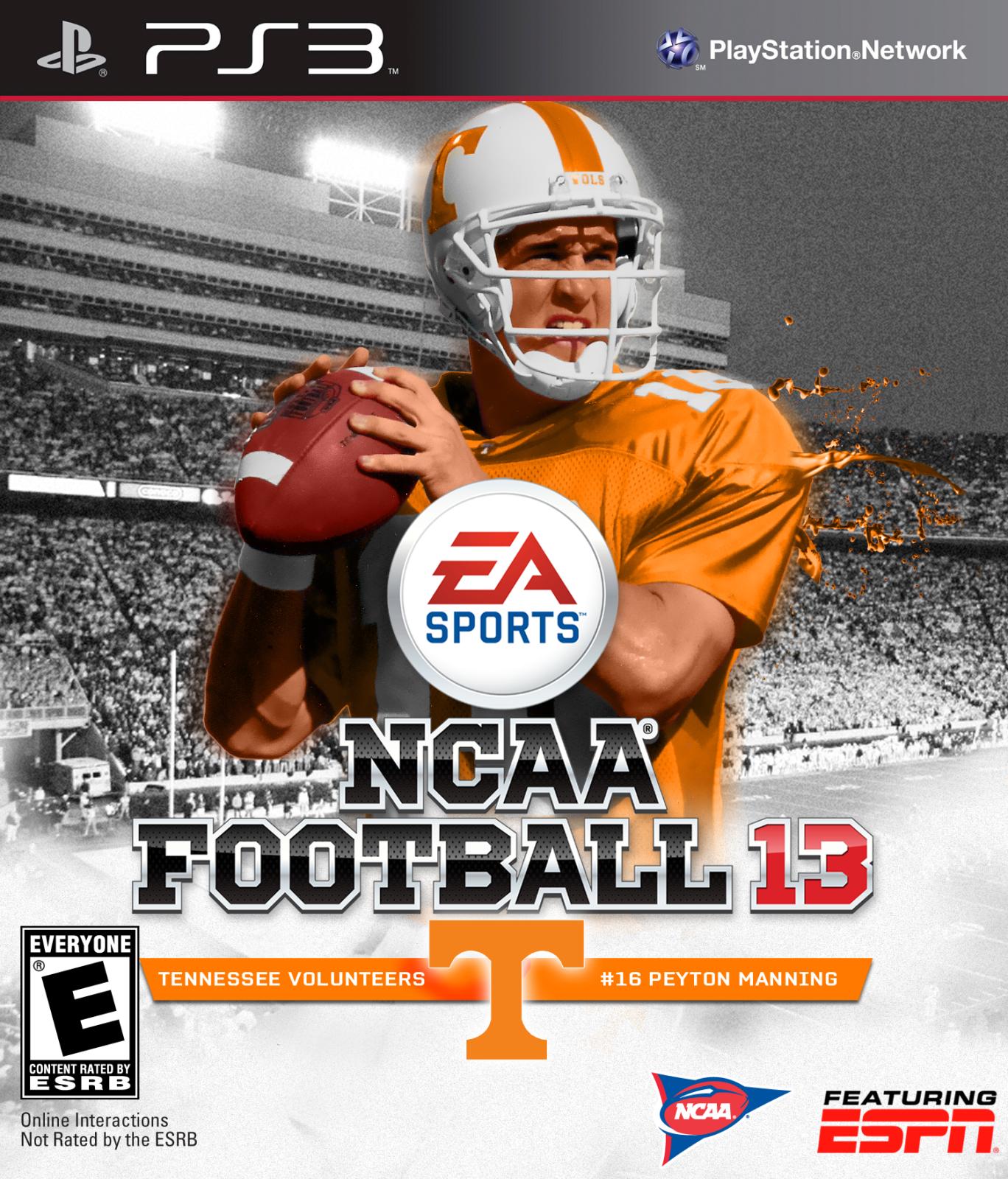 Peyton Manning Tennessee Voltuneers Peyton, Peyton