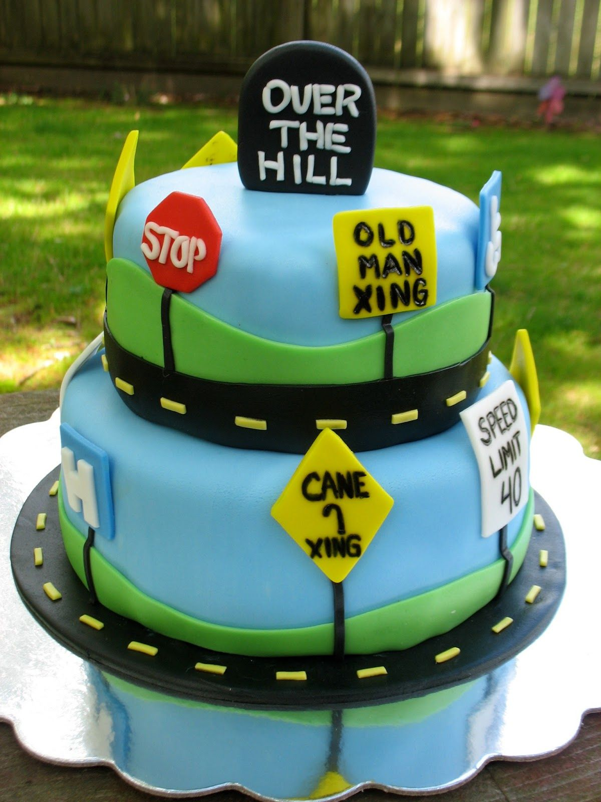 Creative Cakes by Christy Over the Hill cake Dessert Yummy Cute