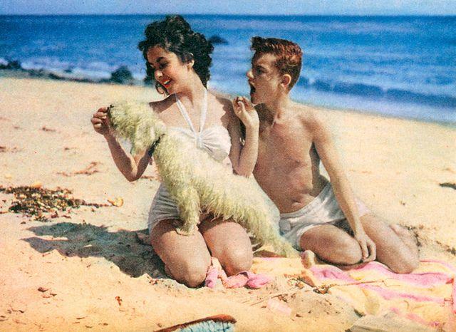 princess margaret and roddy beach