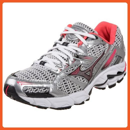 39d91541b488c Mizuno Women's Wave Inspire 6 Running Shoe,White/Shocking Pink ...